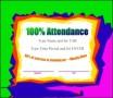 Attendance Certificate Template Free