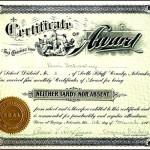 Attendance Certificates Template