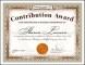 Award Certificate Design