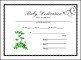 Baby Dedication Certificate Free