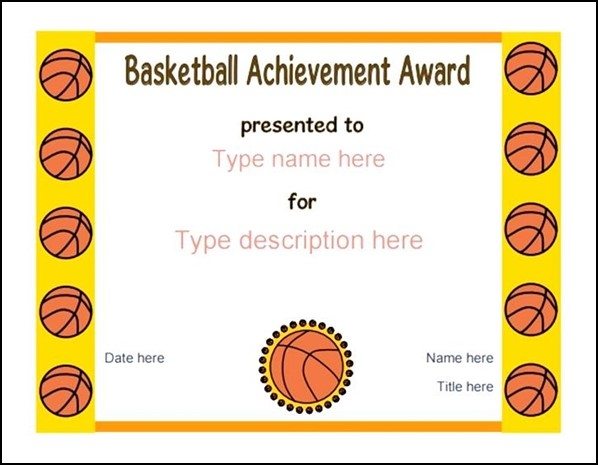 Templates  Free Printable Certificates