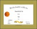 Basketball Certificate Template Free