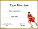 Basketball Certificate Template PDF