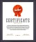 Best Seller Achievement Certificate Template