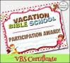 Bible School Certificate Template