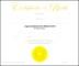 Birth Certificate Template PSD