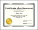 Blank Certificate Powerpoint Template Free