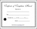 Blank Completion Certificate Template