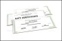 Blank Gift Certificate Template PSD Download