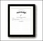 Blank Marriage Certificate Template