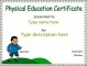 Certificate Template Free Example