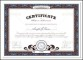 Certificate Template Vector EPS