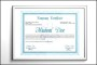 Certificate for Diploma Templates