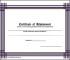 Certificate of Achievement Basketball