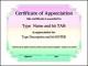 Certificate of Appreciation Professional