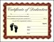 Certificate of Baby Dedication
