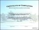Certificate of Completion Template Construction