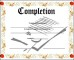 Certificate of Completion Template PDF
