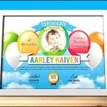 Children Certificate Template
