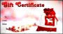 Christmas Gift Certificate Template Free Sample