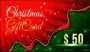 Christmas Holidays Giftcard Certifcate Template PSD