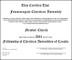 Church Membership Certificate Template
