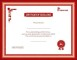 College Graduation Certificate Template