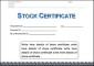 Corporate Stock Certificate Template