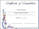 Course Completion Certificate Template Example