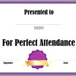 Create Course Attendance Certificate Template Free Online