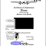 Create Free Football Certificate Template