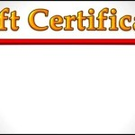 Create Free Gift Certificate Business Template for Mac