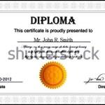 Diploma Certificate Template Premium