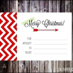 Download Customizable Christmas Gift Certificate 4×6 Size