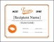 Download Microsoft Award Certificate Template