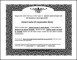 Eagle Stock Certificate Template