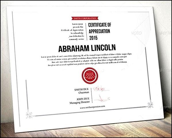certificate easy simple multipurpose sample templates