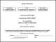 Editable Share Certificate Template