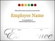 Employee Certificate Google Doc Format Template