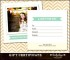 Example Baby Photography Gift Certificate