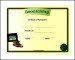 Example Sports Participation Certificate Template
