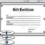 Fake Birth Gift Certificate Template Editable Online