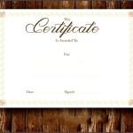 Fake Certificate Printable