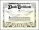 Fake Death Certificate Template Creator