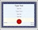 Fake Sample Elegant Education Award Template Editable PDF