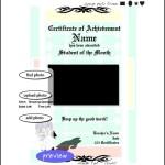 Football Tournament Certificate Template Sample