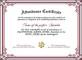 Free Attendance Certificate Designer