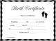 Free Birth Certificate Translation Template Spanish to English