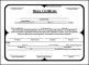 Free Blank Share Certificate Template