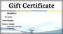 Free Business Gift Certificate Template Online